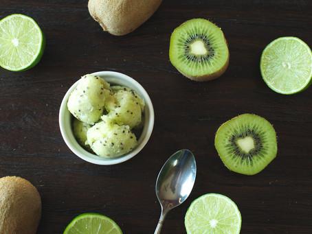 Mega Kiwi & Lime Sorbet