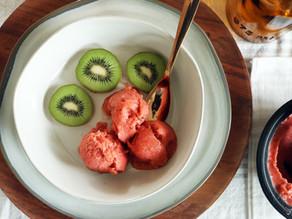 Strawberry Kiwi Sorbet