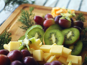 Mega Kiwi Christmas Tree Cheese Board
