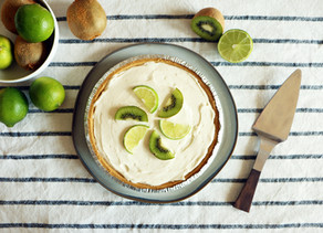 Mega Kiwi Lime Pie