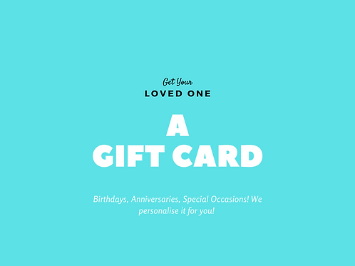 5 Private Lessons Gift Card