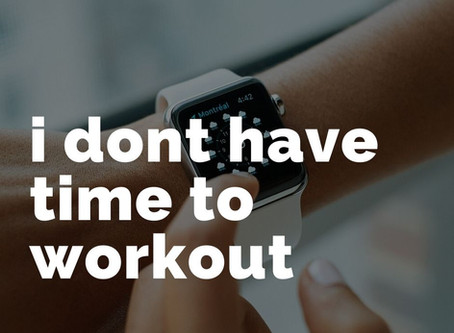 """Why """"I don't have time to workout"""" is totally valid"""