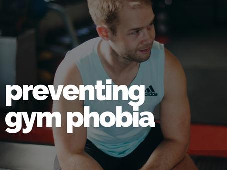 5 Strategies to help prevent gym phobia