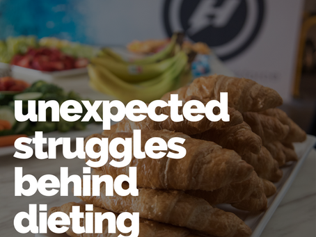 The unexpected struggles behind dieting