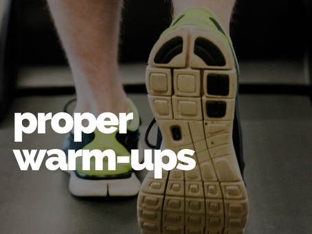 Why running shouldn't be your 'warm-up'