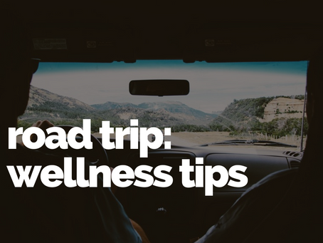 Tips to for a healthy road trip