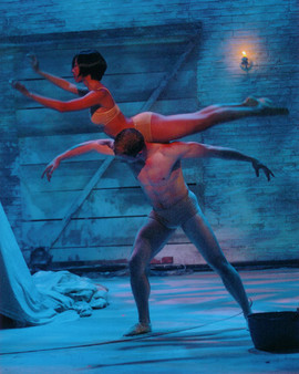 """Ballet of """"The Waltz"""" statues"""