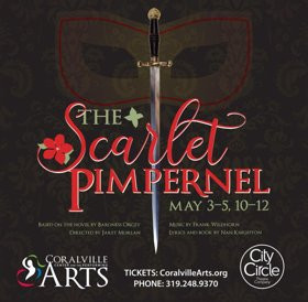 "City Circle Theatre Company to Present ""The Scarlet Pimpernel"""