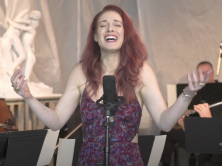 VIDEO: Teal Wicks Sings from Camille Claudel