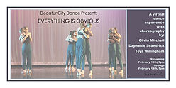 Decatur City Dance - Everything is Obvious