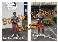 Studio Video Tours!