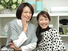 田中美奈子さんがスタジオへ