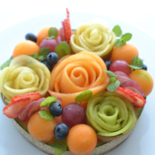 Fruits cake
