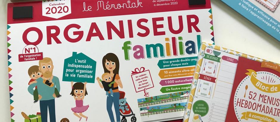 Une rentrée plus qu'organisée chez la Happy Family, avec l'aide des Editions 365