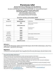 PAROISSE INFO du 03 au 10 octobre 2020.j