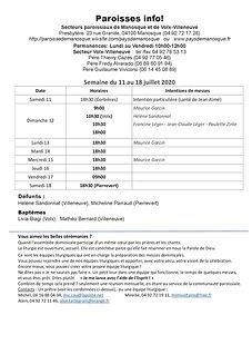 PAROISSE INFO du 11 au 18 juillet 2020.j