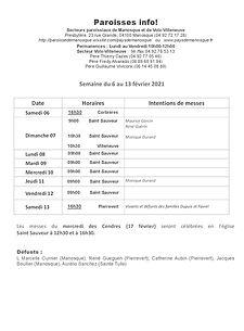 PAROISSE INFO du 6 au 13 février 2021.jp