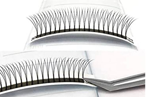 3D Hand crafted Pre-made Lash fans XL Tray