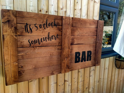 Open Back Bar