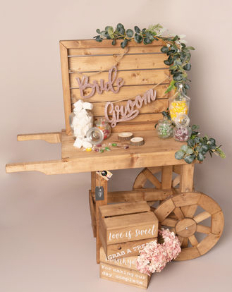 Sweet Cart, Display Board & Crates