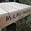 Thumbnail: Wedding Cake Stand Platform Base Rustic Base Pallet Wood Display