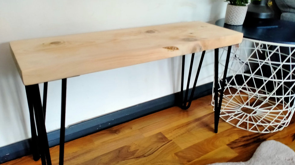 Scaffold Farmhouse Rustic Reclaimed Wood Bench Kitchen Furniture