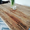 Thumbnail: Scaffold Farmhouse Rustic Reclaimed Wood Dining Table Kitchen Furniture