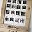 Thumbnail: Wedding Selfie Frame Photo Prop Wood Rustic Personalised Keepsake
