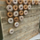 Thumbnail: Doughnut Donuts Donut Wall Display Freestanding Hanger Rustic Wooden Wedding Fav
