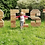 Thumbnail: Wedding Giant Wooden Letter Letters Sign Freestanding Pallet Rustic Initials MR