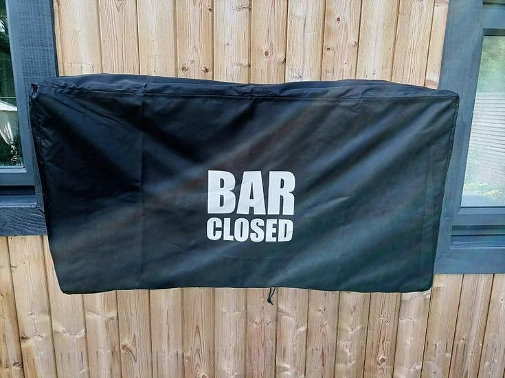 Wall Bar Covers for Outdoor Bars Pubs Waterproof Weatherproof Personalised
