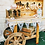 Thumbnail: Candy Sweet Cart Wedding Rustic Display Dessert Buffet Treat Table