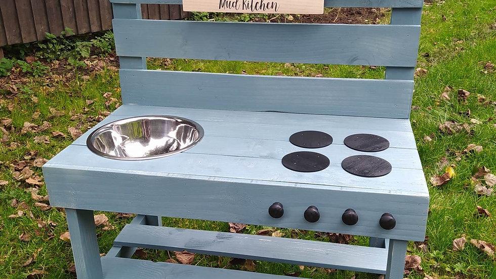 Mud Kitchen Kids Children's Outdoor Messy Play Mud Pie Personalised