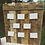 Thumbnail: Seating Board Stand Wooden Display Rustic Seat Plan Guest table plan