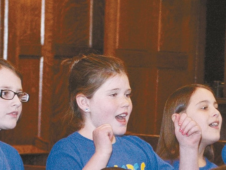 Newport County Youth Chorus enters its second year