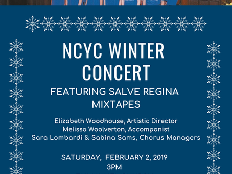 NCYC students perform in concert this February