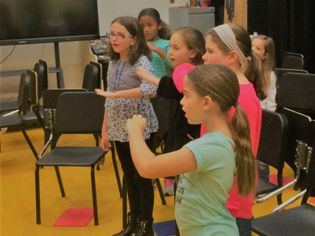 The Newport County Youth Chorus comes to Pell Elementary for an after school program like no other