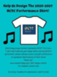 Help Us Design The Next NCYC Performance