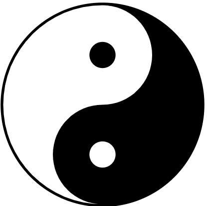 הסמל של יין ויאנג ואיך זה קשור לבריאות שלנו