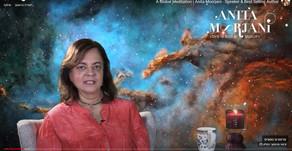 אניטה מורז'אני מנחה מדיטציה גלובאלית