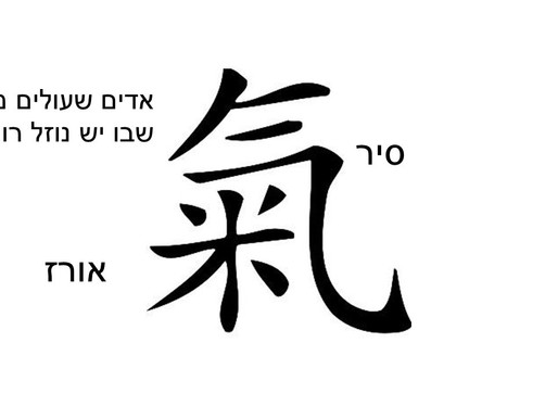 משמעות המילים הסיניות: צ'י קונג, טאי צ'י, אי ג'ין ג'ינג