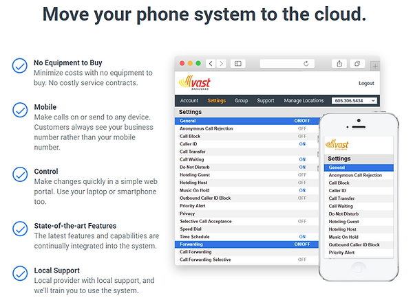 Move your phone system to the cloud