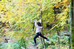 accrobranche à Léman Forest à Novel