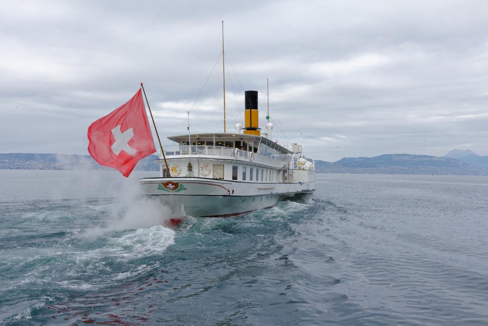 Le Simplon bateau à aubes