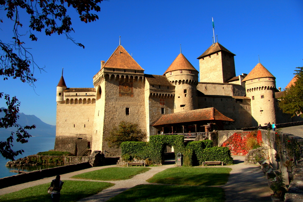 Léman - chateau de Chillon