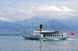 L'Italie, bateau à aube classé