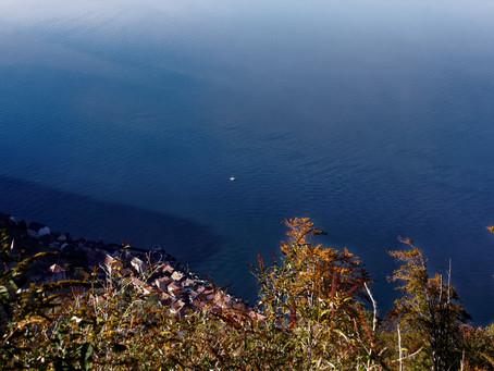 vue plongeante sur Meillerie et le Léman