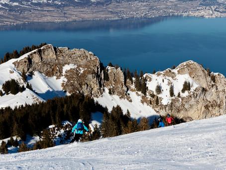 Plongée à ski