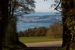 Fenêtre sur le Léman et Lausanne