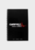 GymPad  Workout Journal Black